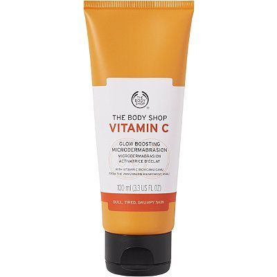 the body shop vitamin c facial cleansing polish review