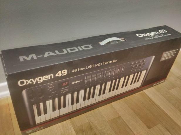 m audio oxygen 49 4th gen review