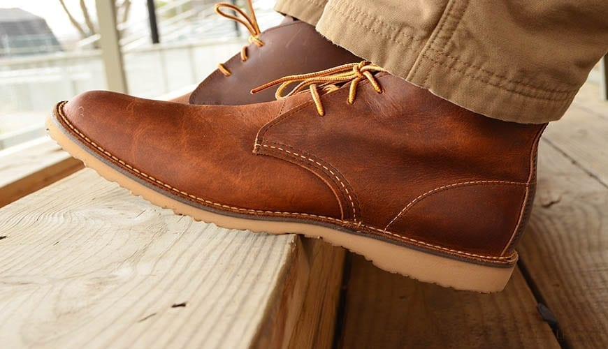 red wing weekender chukka review