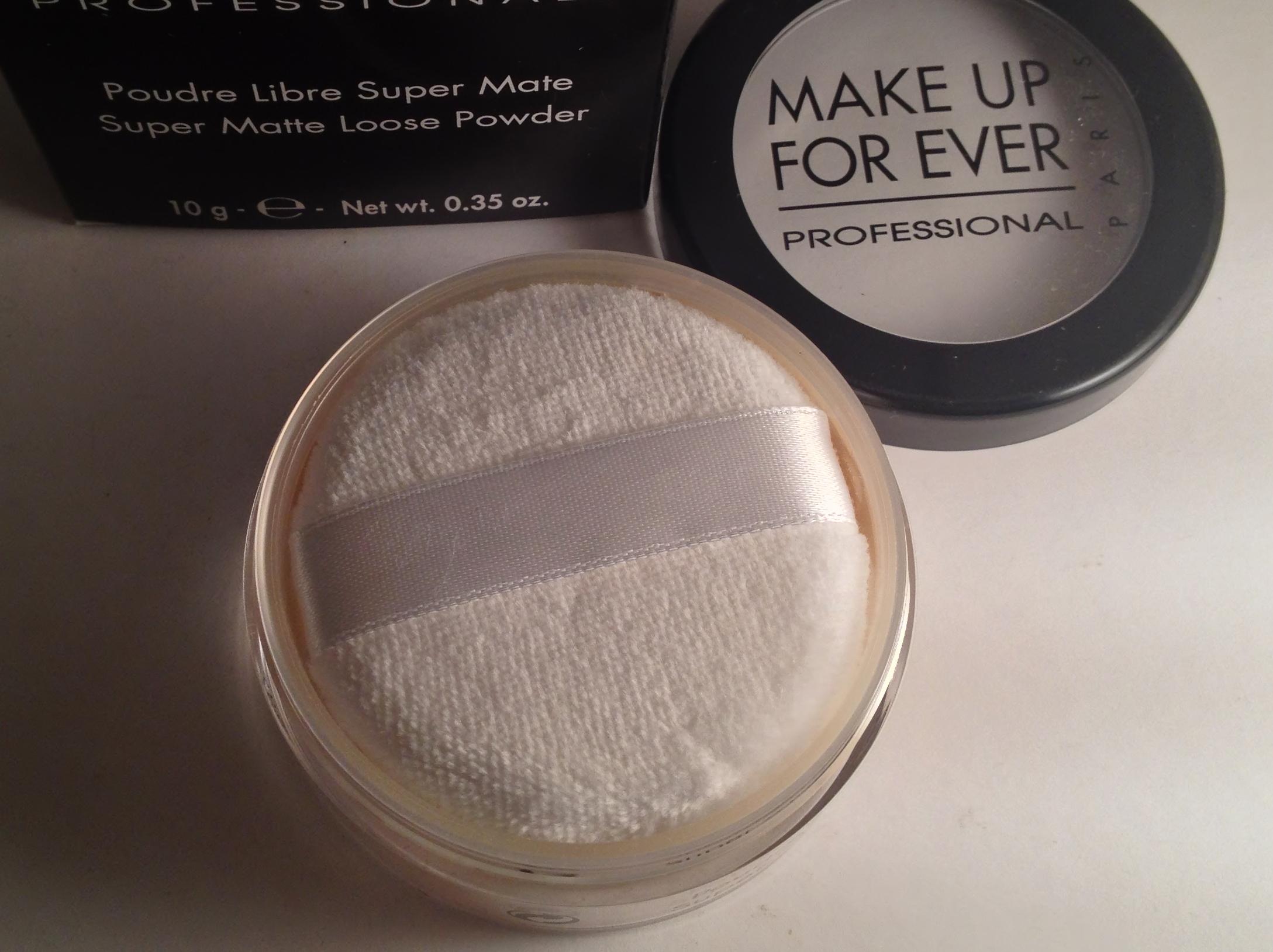 makeup forever super matte loose powder review