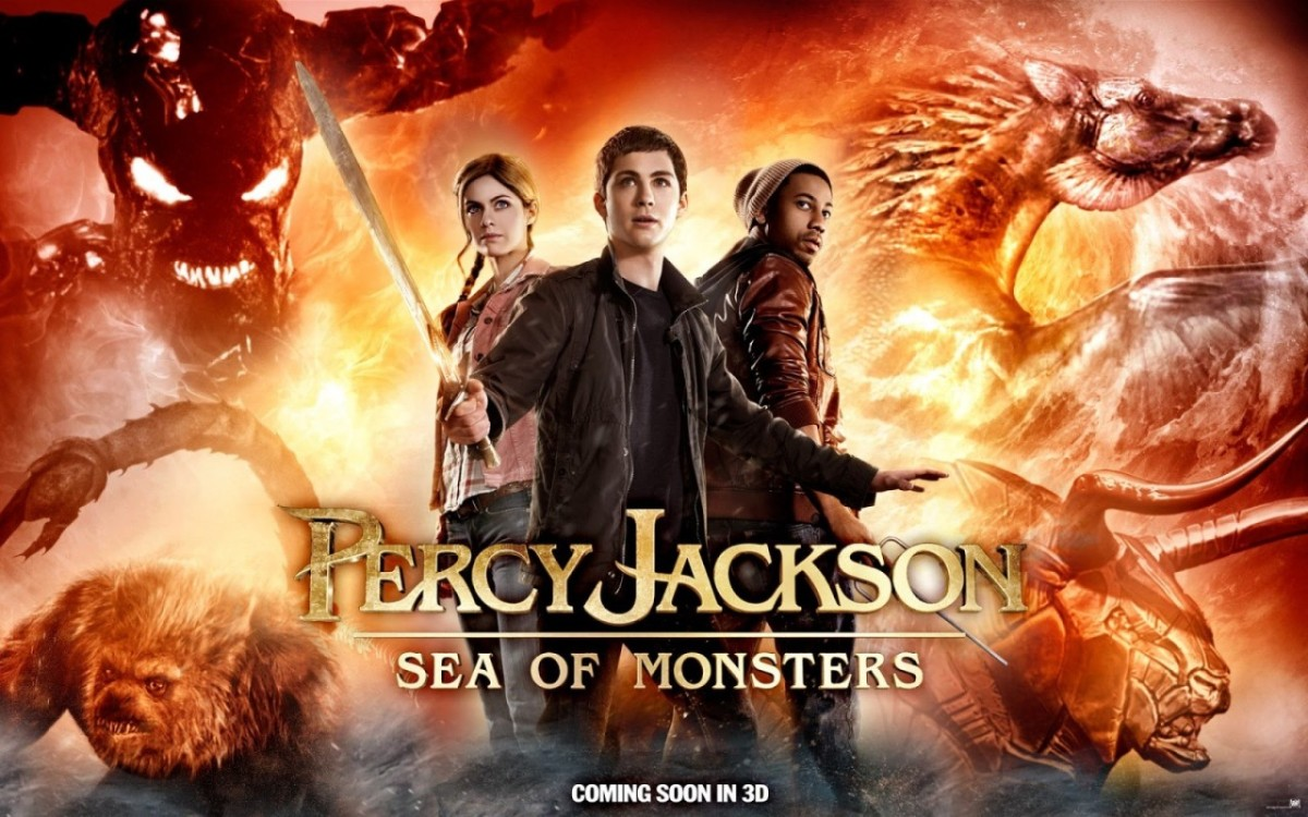 percy jackson and the sea of monsters book review