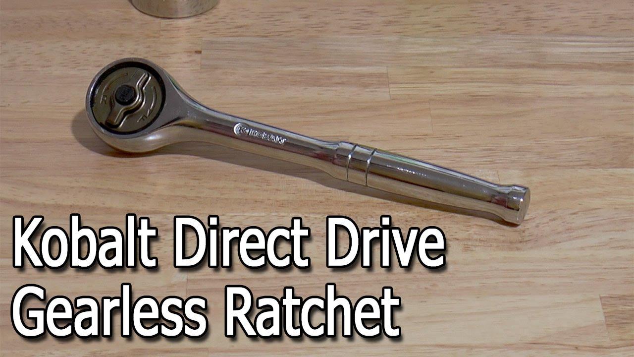 kobalt direct drive ratchet review