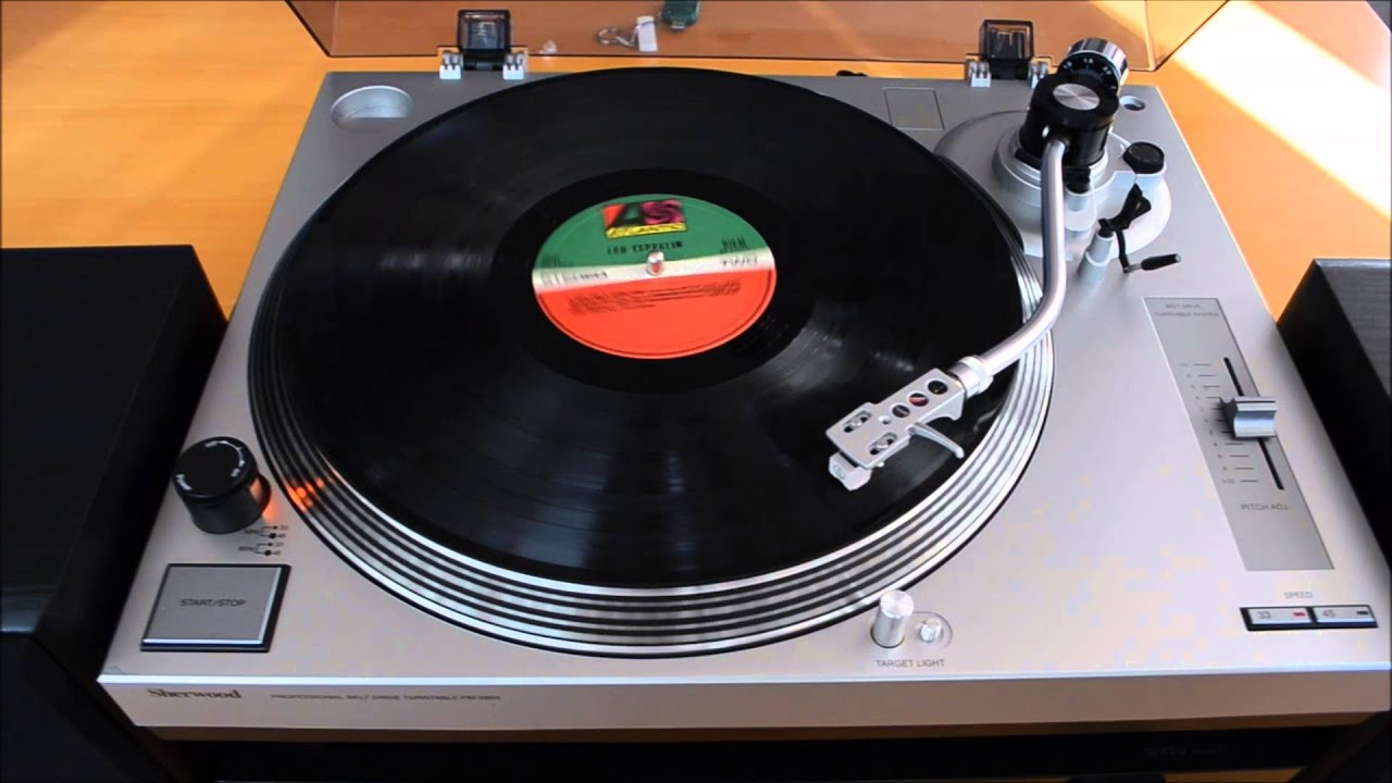 sherwood pm 9805 turntable review