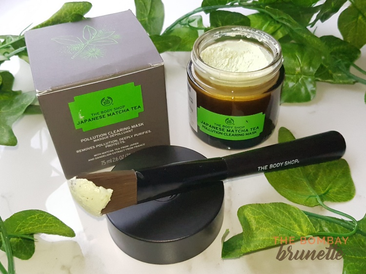 the body shop matcha mask review