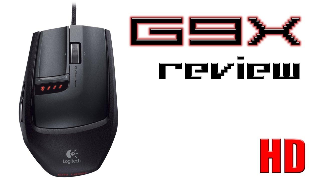 logitech g9x laser mouse review