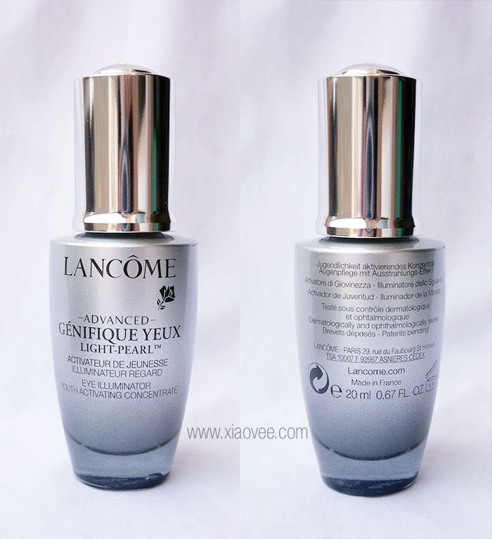 lancome genifique eye light pearl review