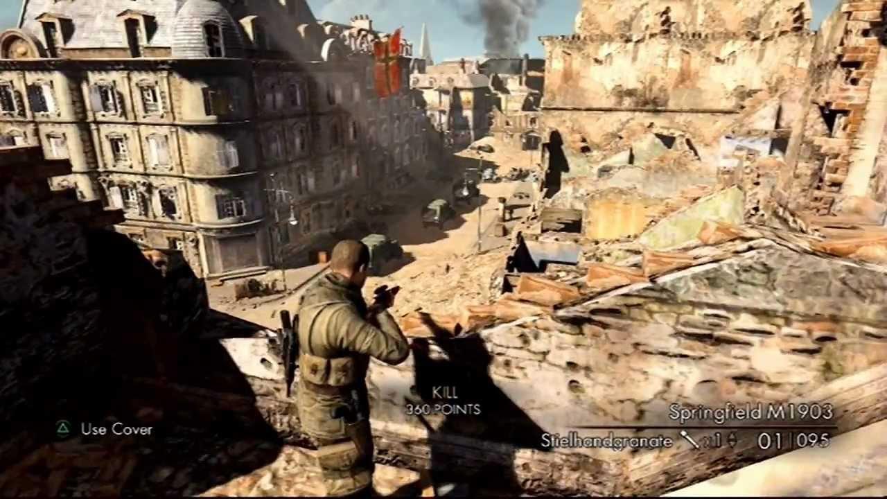 sniper elite v2 ps3 review