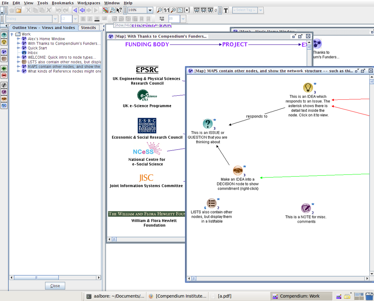 open source mind mapping software reviews