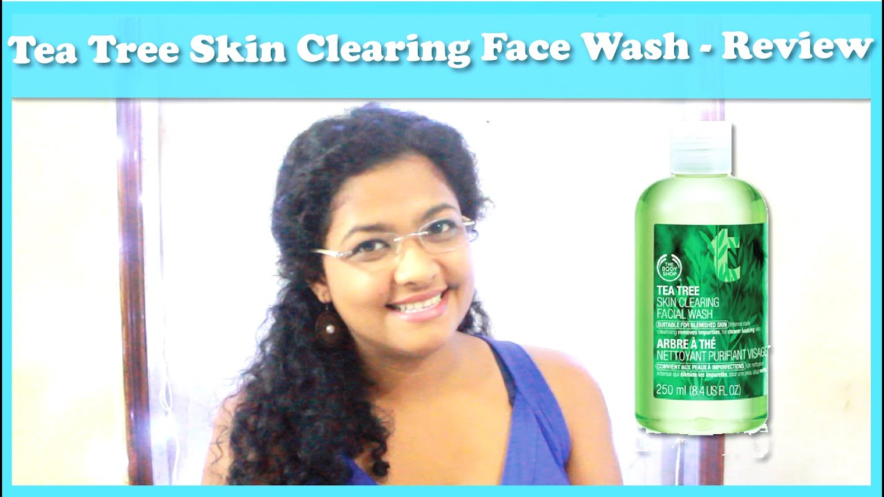 tea tree skin clearing body wash review