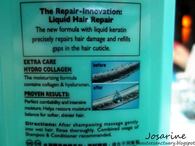 schwarzkopf extra care hair repair review