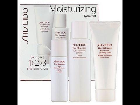 shiseido skincare for acne review