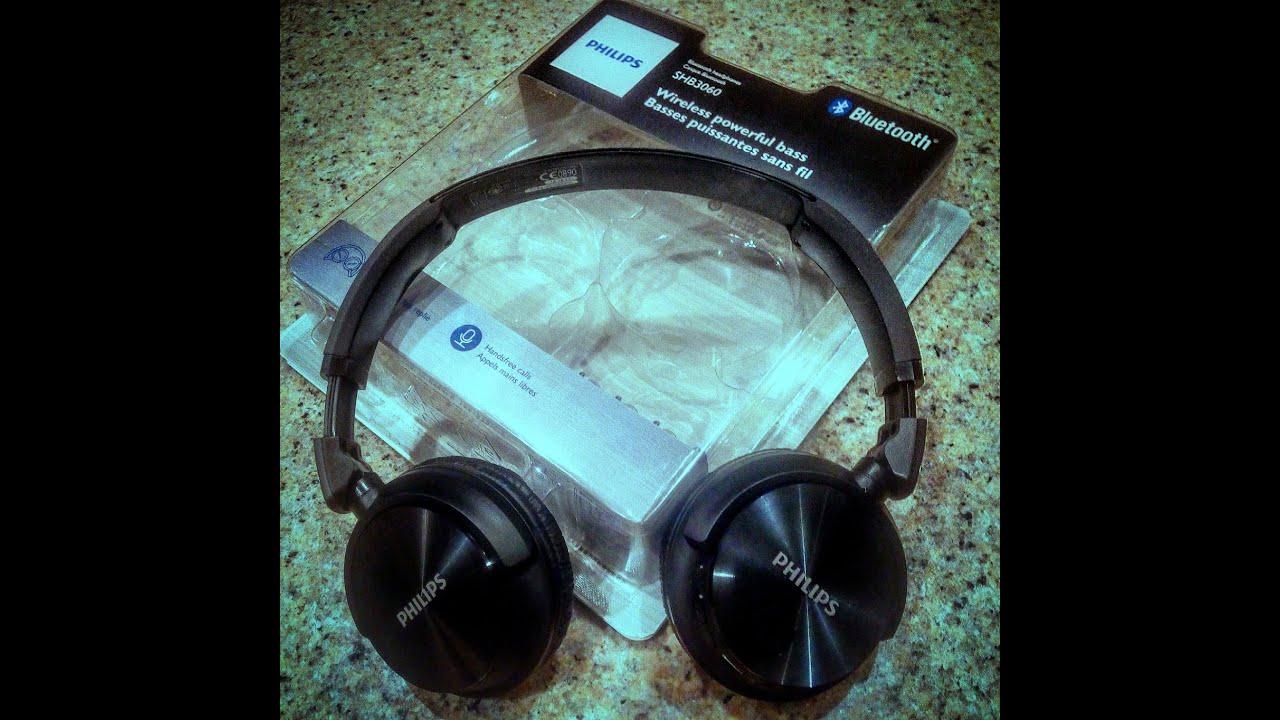 philips shb3060bk bluetooth headphones review