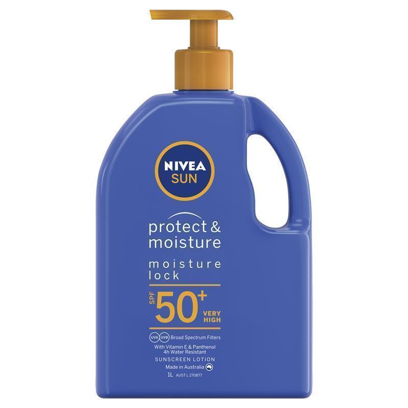 nivea protect and moisture spf 50 review