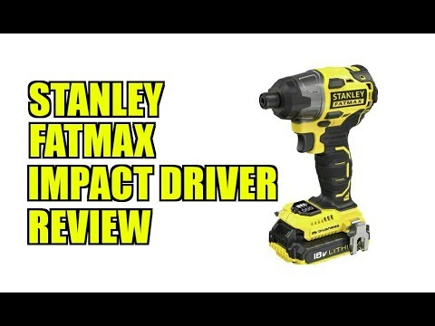 stanley fatmax impact driver review