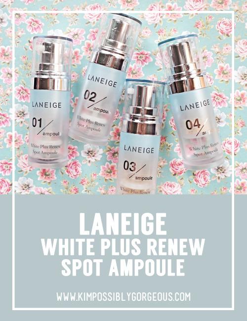 laneige white plus renew spot treatment ex review