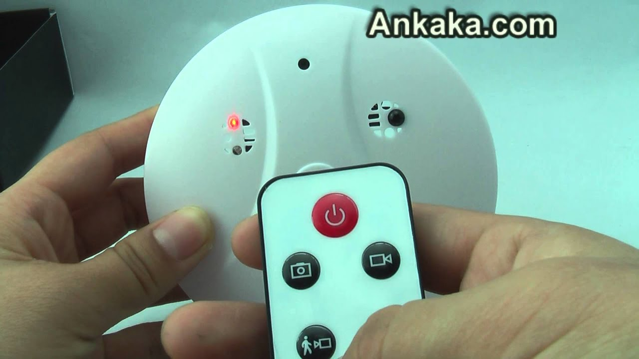 smoke detector hidden camera reviews