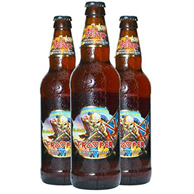 iron maiden trooper beer review