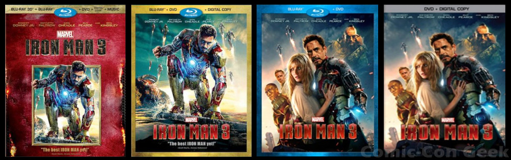 iron man 3 3d blu ray review
