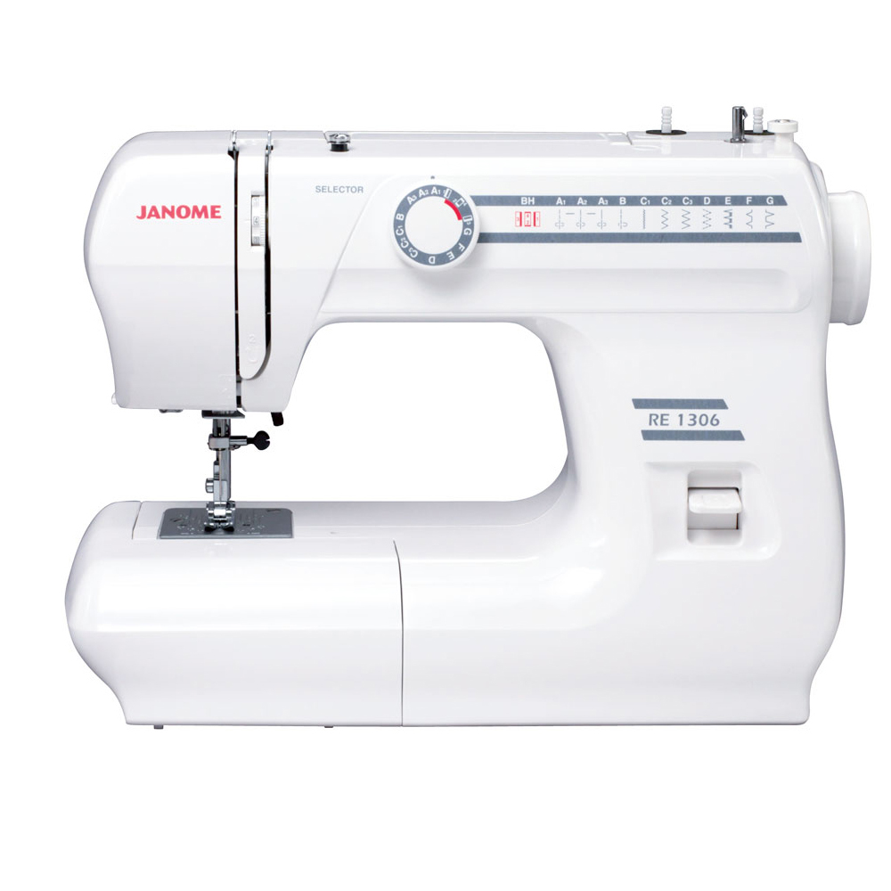 janome re1306 sewing machine review