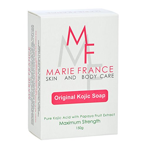 marie france whitening soap review
