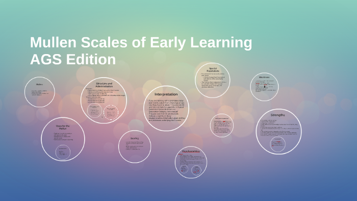 mullen scales of early learning review