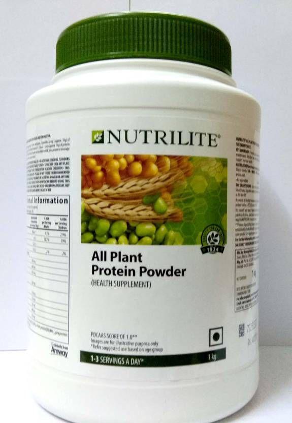 nutrilite all plant protein powder review