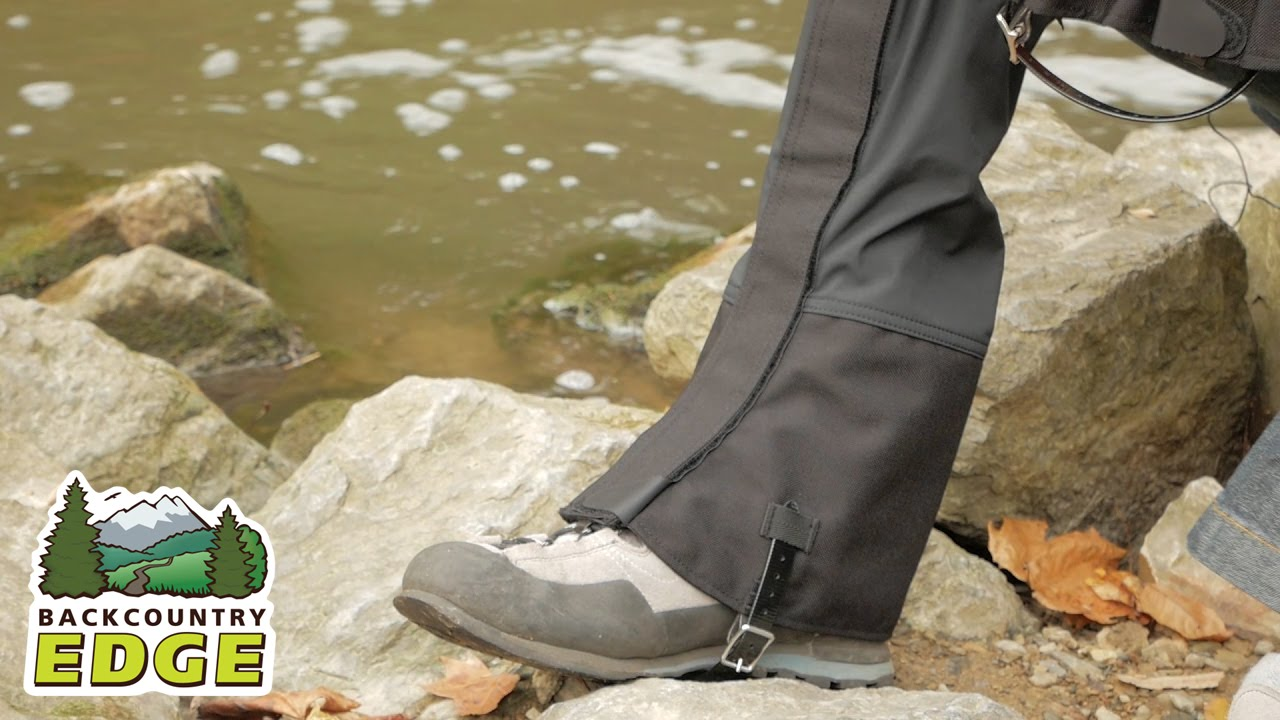 outdoor research crocodile gaiters review